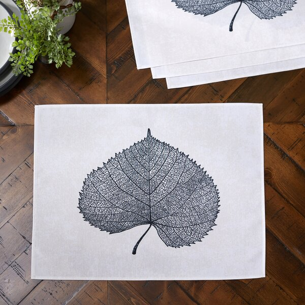Pressed Leaf Placemats (Set of 4) by Birch Lane™