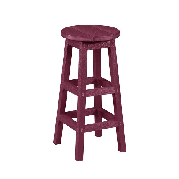 William 30 Patio Bar Stool by Beachcrest Home| @ $189.00