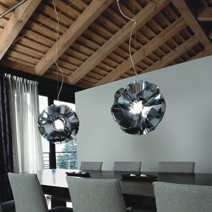 Floral 1-Light Pendant By ZANEEN design