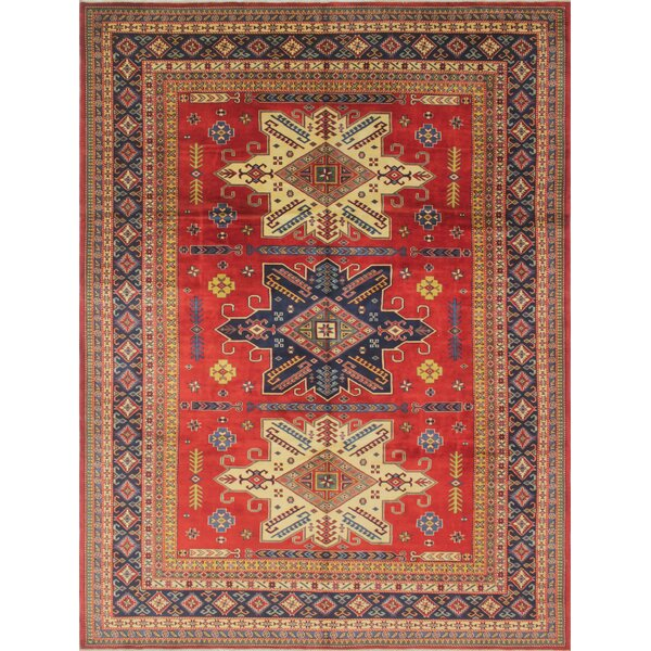 One-of-a-Kind Bronzewood Hand-Knotted Wool Area Rug by Isabelline