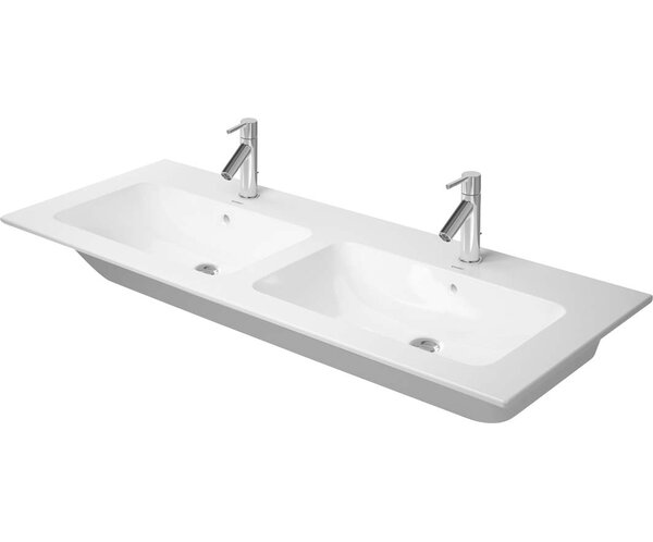 Me by Starck Ceramic Rectangular Vessel Bathroom Sink with Overflow