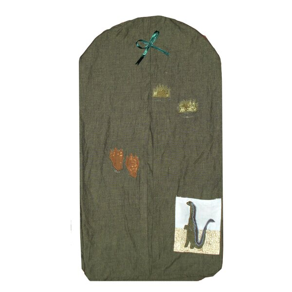 Dinosaur Cotton Diaper Stacker by Patch Magic