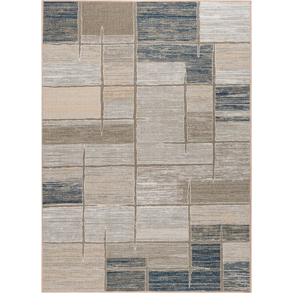 Howser 3 Piece Taupe Area Rug by Latitude Run
