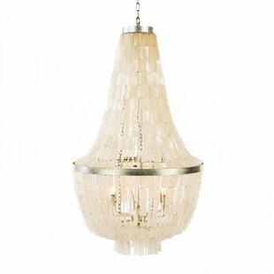 Sea shell chandelier wayfair glendive shell large empire chandelier aloadofball Choice Image