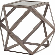 Nyssa End Table by Mercury Row