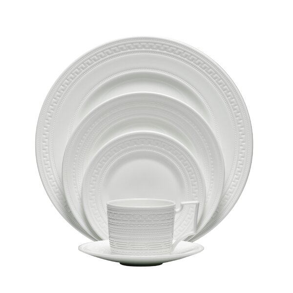 Intaglio Bone China 5 Piece Place Setting, Service for 1 by Wedgwood