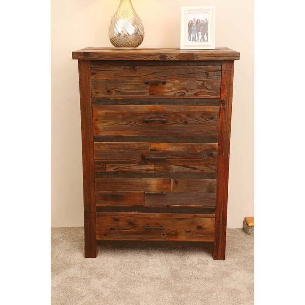 Emsworth 5 Drawer Chest by Loon Peak