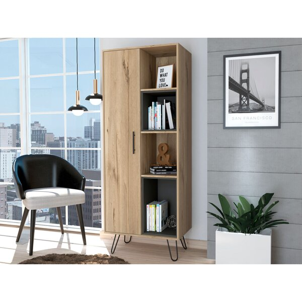 Mylah Pantry Standard Bookcase By Union Rustic