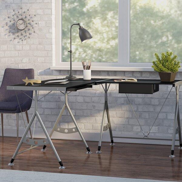 Jahn L-Shape Desk by Latitude Run