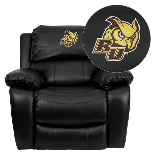 Personalize Rocker Leather Recliner by Flash Furniture