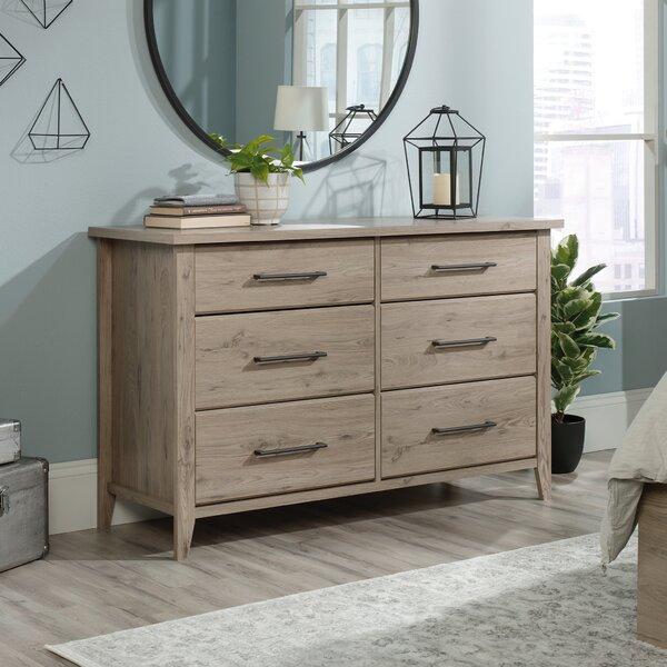 Freda 6 Drawer Double Dresser by Union Rustic