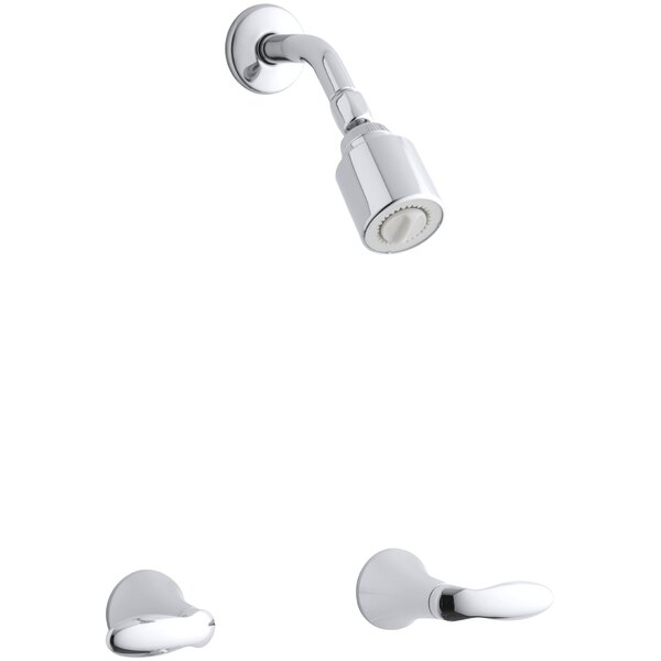 Coralais Shower Faucet Trim With Lever Handles Valve Not Included By Kohler