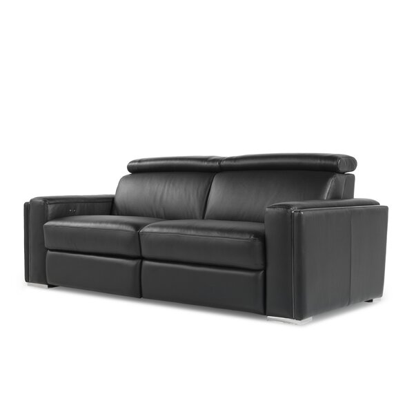 Best Deals Mertine Motorized Reclining Sofa by Orren Ellis by Orren Ellis