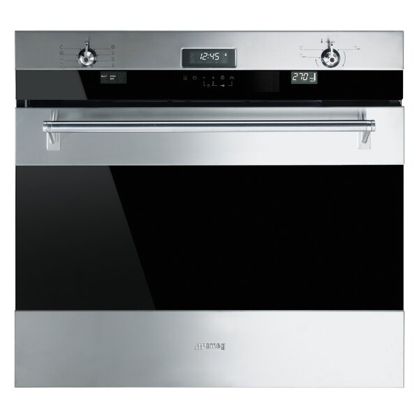 30 Self Cleaning Electric Single Wall Oven by SMEG
