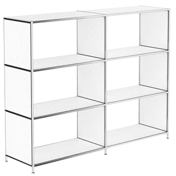 Manzella Cubic Unit Bookcase by Latitude Run