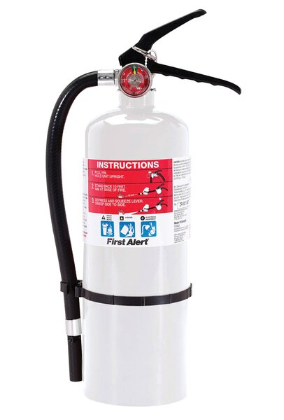 US Coast Guard ABC For Home and Workshops Fire Extinguisher by First Alert