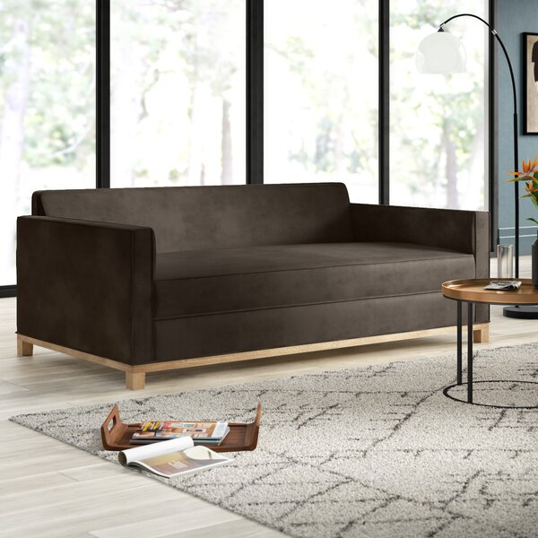 Lore Plush Deep Sofa by Mercury Row