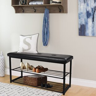 Reviews 8 Pair Shoe Storage Bench By Ebern Designs
