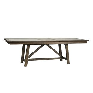 Look for Veeder Trestle Dining Table By Loon Peak