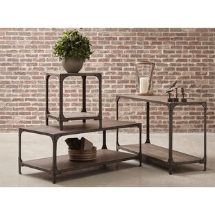Danette 3 Piece Coffee Table Set Williston Forge