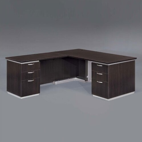 Pimlico Left L-Shape Executive Desk by Flexsteel Contract