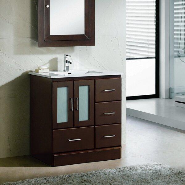 Rethman Modern 30 Single Bathroom Vanity Set by Latitude Run
