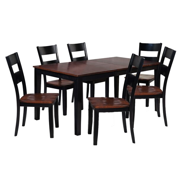 Boswell 7 Piece Solid Wood Dining Set By TTP Furnish Read Reviews