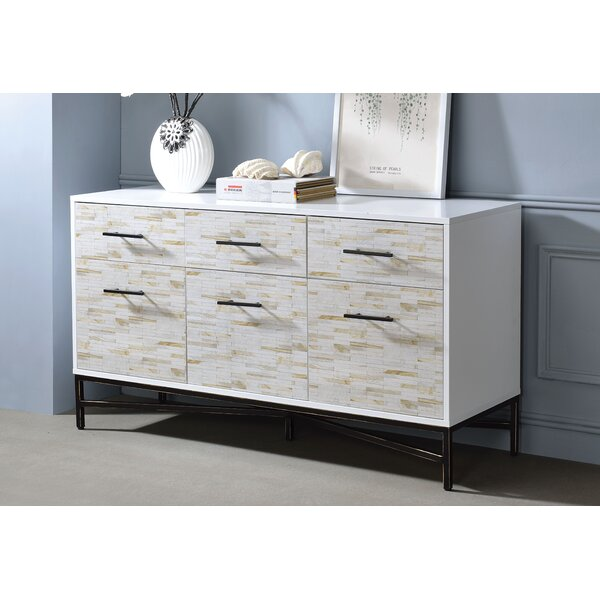 Orizaba 6 Drawer Nightstand by Brayden Studio