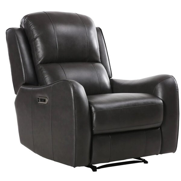 Sybilla Leather Power Recliner W002522388