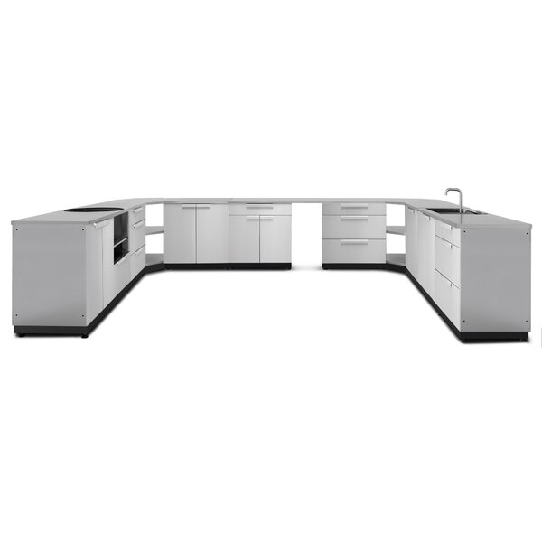 @ Kitchen 17 Piece Outdoor Bar Center Set by NewAge Products| #$9,249.99!