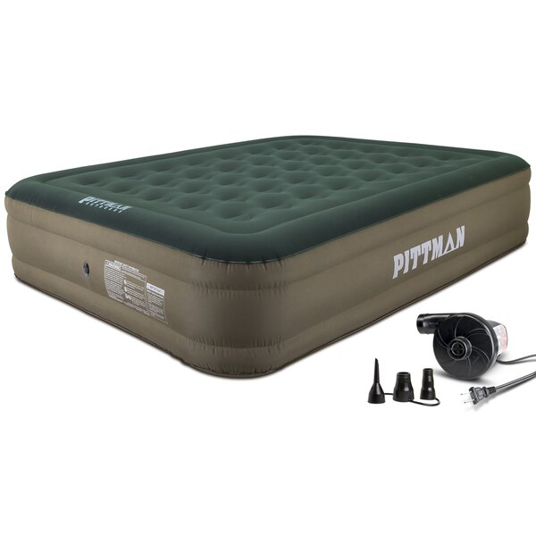 Ultimate 16 Air Mattress with Portable Air Pump by Pittman Outdoors