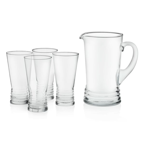 Monclova Glass Entertaining 5 Piece Beverage Serving Set by Libbey