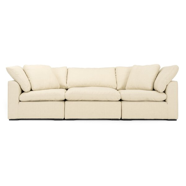 Excellent Brands Grantville 3 Piece Modular Sofa by Three Posts by Three Posts