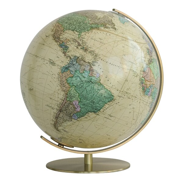 Vienna Illuminated Desktop Globe by Columbus Globe