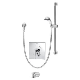 Duro Pressure Balance Tub and Hand Shower Unit with Lever Handle