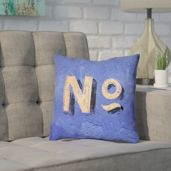Enciso Graphic Wall Throw Pillow with Zipper by Brayden Studio