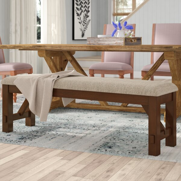 Isabell Upholstered Bench by Laurel Foundry Modern Farmhouse