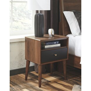 Best Reviews Scott 1 Drawer Night Stand by George Oliver