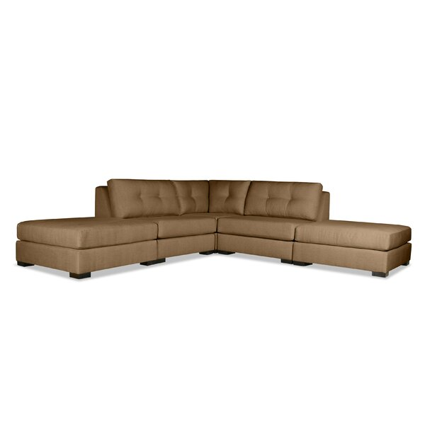 Glaude Plush Deep Modular Sectional by Brayden Studio