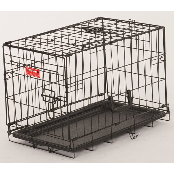 Quincy Lucky Dog 2 Door Training Crate by Tucker Murphy Pet