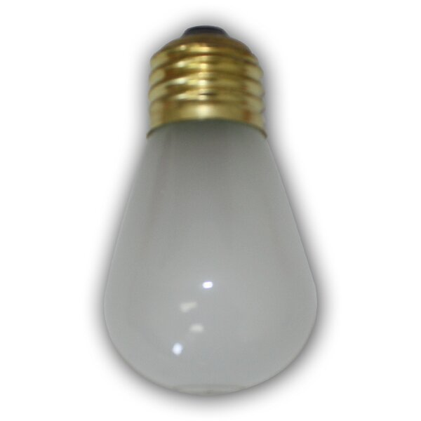 11W Frosted E26 Incandescent Vintage Filament Light Bulb by Aspen Brands