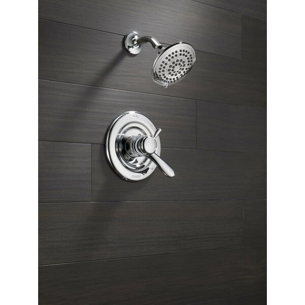 Lahara Shower Faucet Trim with Lever Handles and M
