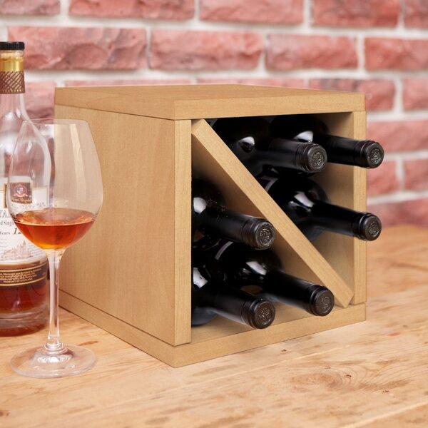 Tamez Eco zBoard 6 Bottle Tabletop Wine Bottle Rack by Ebern Designs Ebern Designs