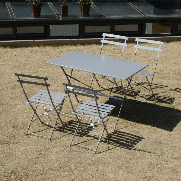 Downing Outdoor 5 Piece Dining Set by Ebern Designs