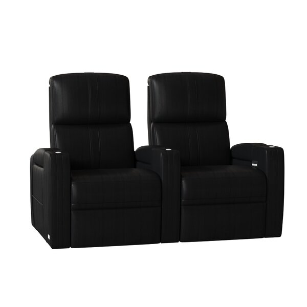 Flash HR Series Home Theater Recliner (Row Of 2) By Winston Porter