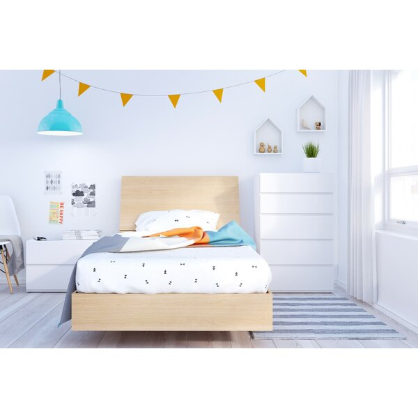 Eton Twin Platform 4 Piece Bedroom Set by Wrought Studio
