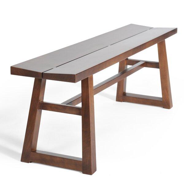Chelsea Walnut Bench by Gingko Home Furnishings