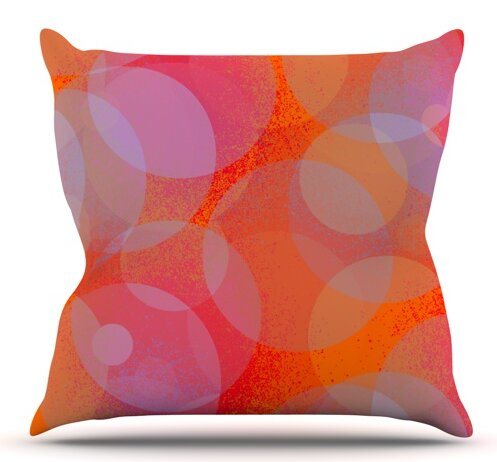 Six by Marianna Tankelevich Outdoor Throw Pillow by East Urban Home