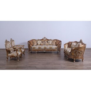 Tottenville 3 Piece Living Room Set by Astoria Grand
