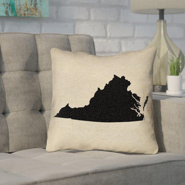 Sherilyn Virginia Throw Pillow